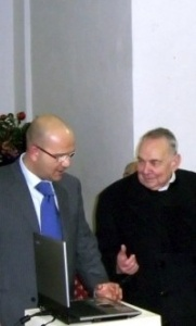 Salvatore Lenti e Don Domenico Lorusso